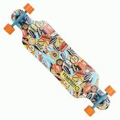longboard Tempish MAZAK Skateboard, Personalized Items, Outdoor Decor, Home Decor, Skateboarding, Decoration Home, Room Decor, Skate Board, Home Interior Design