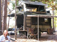 trailer/rtt/quad - been done? Jeep Camping, Off Road Camping, Camping Survival, Trailer Tent, Off Road Trailer, Camper Trailers, Quad Trailer, Expedition Trailer, Overland Trailer