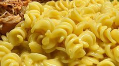 Make your own macaroni and cheese with just macaroni, cheese food, milk, pepper, and this recipe.