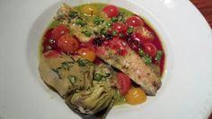 Super Fresh Branzino w/ Tomato,  Fennel &Artichoke