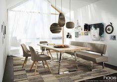 Haas Essgruppe Dining Room, Dining Table, Banquette, Office Desk, Designer, Interior, Furniture, Klagenfurt, Home Decor