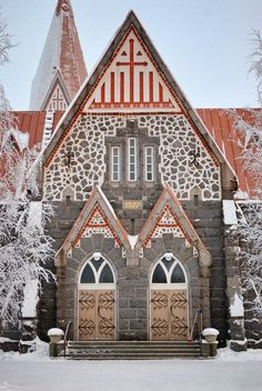 https://flic.kr/p/qdiwda | Untitled | Set: Alahärmä Church (1903) (Alahärmä, Finland) + collection: Buildings + Spaces