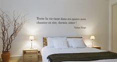 Toute la vie tient dans ces quatre mots... Victor Hugo