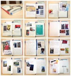 Awesome tips for adding pockets to journals and mini albums.