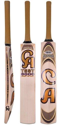 10cd47b516 CA Test 8000 Grade 1 English Willow Pre-knocked Cricket Bat Short Handle