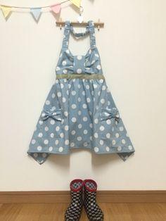 f807a4dc4746c リボンの可愛い(≧∇≦)キッズエプロン♪の作り方|ソーイング|編み物・手芸・ソーイング|アトリエ