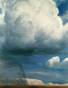 Goodman, Sidney / The Elements - Air / 1982-83 / Oil on canvas / 96 x 75 in (243.8 x 190.5 cm) / Collection Mr and Mrs John J Turchi, Jr
