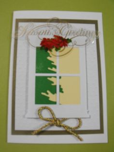 Handmade Christmas Card via Etsy