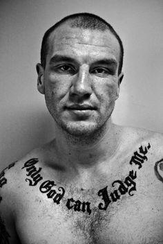 American Prison Tattoos by Photographer Robert Gumpert
