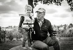 Opa en Kees
