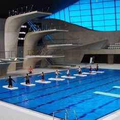 Velodrome And Olympic Swimming Pool In Berlin Germany By Projects Pinterest Olympic