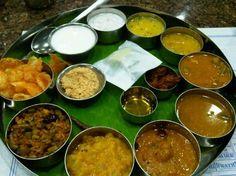 southern vegetarian meals-saravana bhavan
