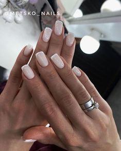 Frensh Nails, Nail Manicure, Shellac French Manicure, Nail Polish, Elegant Nails, Stylish Nails, Acrylic Nails Nude, Classic Nails, Bride Nails