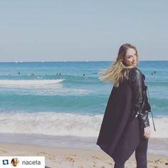 > KUKLA < www.madamekukla.com #variable #wrapdress #makeityours #diy #sleeveless #doubleface #black #saltpepper #madamekukla #barcelona #naceta #nataliekreuzmayr #testimonial #windprotection