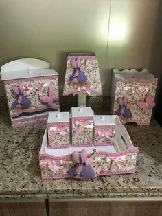 Compre Item Infantil Nunca Usado no enjoei :p kit higiene bebe decorado tecido,contem todas as peças da.... Código: 19679869