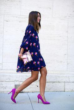 夏の スタイル の女性プリント シフォン ドレス高ファッションブロガー ドレス作業リゾート着用安い服中国curto vestido デ · フェスタ(China (Mainland))