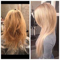 Hair extensions  Blonde Olaplex
