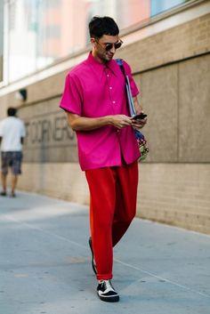 Street style- New York- Menswear- Verão 2017- Julho 2016 foto: FOTOSITE