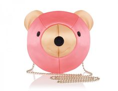 Love this Charlotte Olympia pink satin bear purse! So cute!