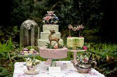 Pretty Dessert Table by lorrie