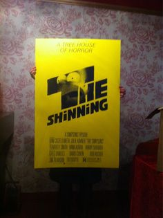 Awesome simpsons vs the shining poster by Olly Moss!