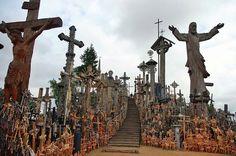 La colina de las cruces de Lituania