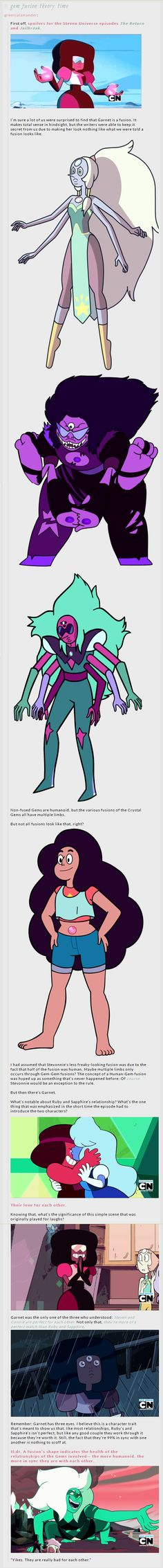 I don't think she has the third eye because of not fusing completely together but because it's the future vision eye and is unlike a regular seeing eye. But the rest of it makes a lot of sense!