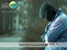 Learn how to deal with disappointment with us today Disappointment, Education, Learning, Studying, Teaching, Onderwijs