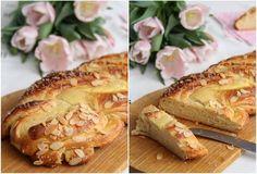 Vaniljesnurr med mandelflak - My Little Kitchen Little Kitchen, Camembert Cheese, French Toast, Baking, Breakfast, Food, Bread Making, Morning Coffee, Kitchen Small