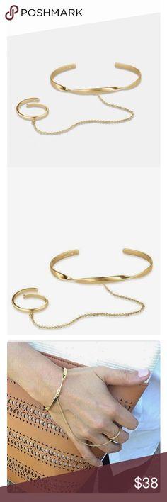 Bridge Bracelet Gold Stella&Dot Bridge Bracelet Gold Stella&Dot Stella & Dot Jewelry Bracelets
