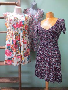 5d1cfe951e9 Bundle of 3 Ladies Dresses Tunics Joules Elodie and Fat Face Size 8 Floral  #6B