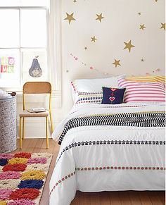 Happiness runs to and fro on the lavishly embroidered ribbons of our Broderi bedding and accessories-joining our love for light, bright Scandinavian stitchery with a supersoft place to dream.