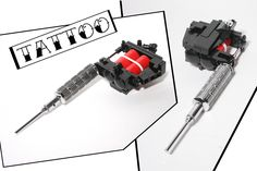 LEGO Tattoo Gun | by damoncorso