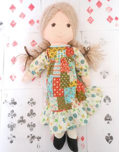 """Vintage Doll Holly Hobbie 15"""" inches Tall Collectible by vintagetweekedbycard"""