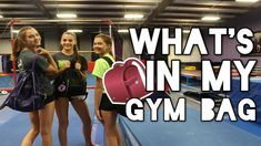 What's in my Gym/Cheer Bag: Cheer/Gymnastics Survival Kit