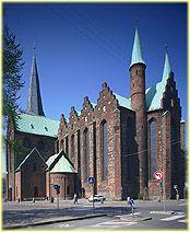 right around the corner from my Gymnasium, Århus Katedralskole, Århus Danmark