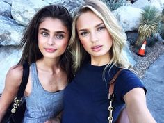 taylor hill, model, and romee strijd image