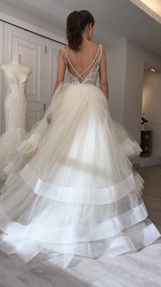 Lazaro ball gown Style 3708 Lazaro Wedding Dress, Lazaro Bridal, Bridal Wedding Dresses, Dream Wedding Dresses, Cinderella Gowns, Bridal Fashion Week, Perfect Wedding Dress, Wedding Styles, Designer