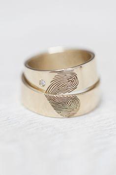 Een vingerafdruk op je bruiloft | ThePerfectWedding.nl