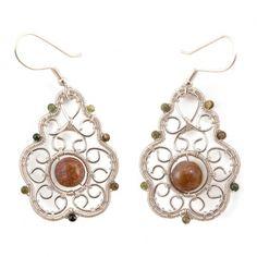 Moszkavitos Filigrán fülbevalók Wire Wrapped Jewelry, Wire Wrapping, Handmade Jewelry, Wraps, Drop Earrings, Rap, Drop Earring, Diy Jewelry, Wire Wrap Jewelry