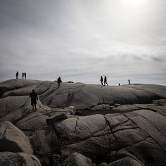 #MOONWALK by Marie Joelle Nimmesgern #Photocircle #nofilter #bw #blackandwhite #photoart from #Canada #landscapephotography  #coast #frontlight #minimalism #minimalist #NovaScotia #rocks #sky #monochrome #fineart  This photo is special: the photographer donates 100% of his revenue to a social project in #Bolivia
