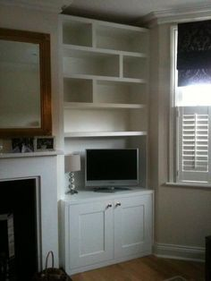 Alcove units Surbiton Understairs Storage Alcove Surbiton units Understairs Storage Alcove storage S Alcove Storage Living Room, Built In Shelves Living Room, Alcove Shelving, Playroom Storage, Shelving Systems, Shelving Ideas, Kids Storage, Storage Ideas, Chimney Breast Shelving