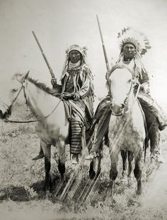 Assiniboine Indians, via Flickr.
