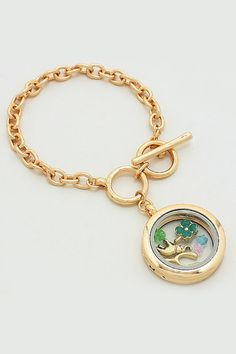 Lucky Memory Bracelet in Gold | Women's Clothes, Casual Dresses, Fashion Earrings & Accessories | Emma Stine Limited