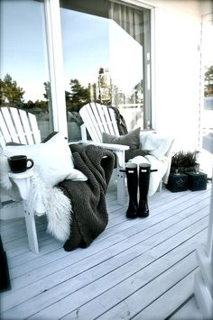 Interiør Blogg – Villa Paprika ..porch ideas