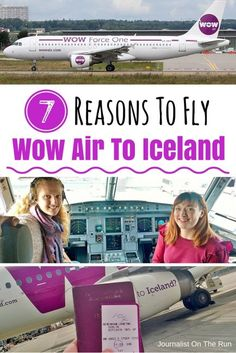 Besides flight prices starting at just $99 from the US to Iceland, here are 7 more great reasons to fly with Wow Air.