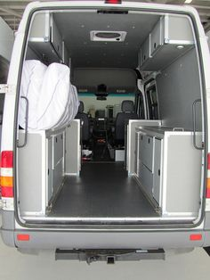 Wonder Bread: Our Cargo Van to Camper Van project (the abbreviated version) - Sprinter-Forum