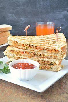 Healthy Soya Sandwich – Ruchi's Kitchen