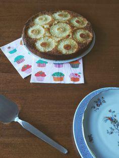 Tè verde e pasticcini: { Cakes } - Torta all'ananas