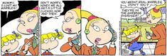 Classic Rugrats Comic Strip for May 6, 2021 | NickelodeonWatch classic Rugrats on Paramount+!The all new CG-animated Rugrats series premieres Thursday, May 27, exclusively on Paramount+!More Nick: Nickelodeon Taps All-Star Voice Talent Lineup for Iconic Grown-Up Roles in Brand-New Rugrats, Debuting Spring 2021 on Paramount+!Rugrats, provided to Creators Syndicate by Nickelodeon, based off the popular animated television series has been created for children and family's to laugh and enjoy to